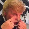 ドナルド・トランプの風刺映画、特殊メイクを施して演じているのは、あの大物俳優!
