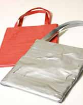 ファッション業界注目!? ガムテープでバッグを作ってみました