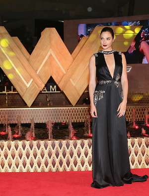 "MEXICO CITY, MEXICO - MAY 27:  Actress Gal Gadot attends the ""Wonder Woman"" Mexico City premiere at Parque Toreo on May 27, 2017 in Mexico City, Mexico.  (Photo by Victor Chavez/WireImage)"