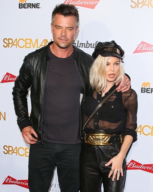 WEST HOLLYWOOD, CA - AUGUST 07: Fergie Duhamel and Josh Duhamel attend the Premiere of Orion Pictures' 'Spaceman' at The London Hotel on August 7, 2016 in West Hollywood, California. (Photo by JB Lacroix/WireImage)