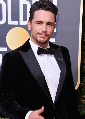 BEVERLY HILLS, CA - JANUARY 07: Actor James Franco attends The 75th Annual Golden Globe Awards at The Beverly Hilton Hotel on January 7, 2018 in Beverly Hills, California.  (Photo by George Pimentel/WireImage)