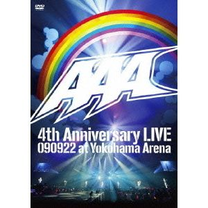 AAA/AAA 4th Anniversary LIVE 090922 at Yokohama Arena