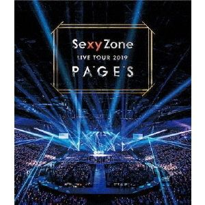 Sexy Zone/Sexy Zone LIVE TOUR 2019 PAGES(通常盤Blu-ray)(Blu?ray Disc)
