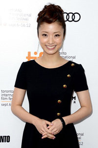 "TORONTO, ON - SEPTEMBER 08:  Aya Ueto attends the ""Thermae Romae"" premiere during the 2012 Toronto International Film Festival at Roy Thomson Hall  on September 8, 2012 in Toronto, Canada.  (Photo by Mark Davis/Getty Images)"