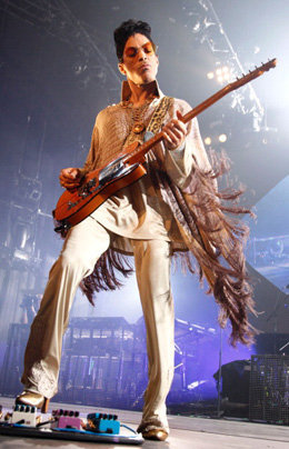 "(EXCLUSIVE, Premium Rates Apply) (EXCLUSIVE COVERAGE) Prince performs during his ""Welcome 2 Europe"" tour at Ahoy on July 10, 2011 in Rotterdam, Netherlands. (Brian Ach/WireImage for NPG Records 2011)"