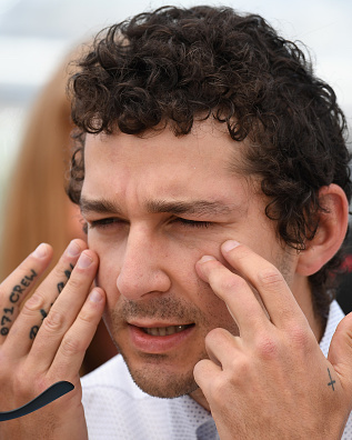 "CANNES, FRANCE - MAY 15:  Actor Shia LaBeouf attends the ""American Honey"" photocall during the 69th annual Cannes Film Festival at the Palais des Festivals on May 15, 2016 in Cannes, France.  (Photo by Venturelli/WireImage)"