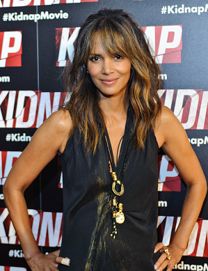 "CHICAGO, IL - JULY 25:  Halle Berry attends the Chicago premiere of ""Kidnap"" at Kerasotes Showplace ICON on July 25, 2017 in Chicago, Illinois.  (Photo by Timothy Hiatt/Getty Images)"