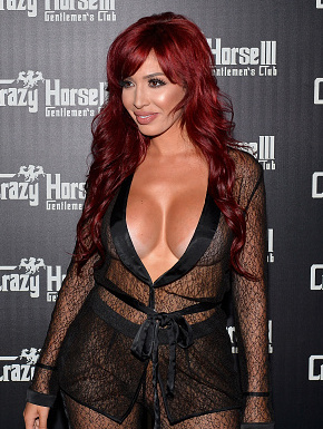 LAS VEGAS, NV - AUGUST 04:  Television personality Farrah Abraham arrives at the Crazy Horse III Gentlemen's Club on August 4, 2017 in Las Vegas, Nevada.  (Photo by Bryan Steffy/WireImage)