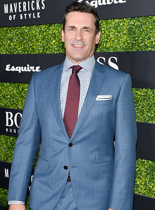 LOS ANGELES, CA - SEPTEMBER 06:  Jon Hamm attends Esquire Celebrates September Issue's 'Mavericks of Style' Presented by Hugo Boss at Chateau Marmont on September 6, 2017 in Los Angeles, California.  (Photo by Stefanie Keenan/Getty Images for Esquire)