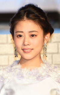 "TOKYO, JAPAN - APRIL 08:  Actress Mitsuki Takahata attends the premiere of ""Cinderella"" on April 8, 2015 at Roppongi Hills in Tokyo, Japan.  (Photo by Jun Sato/WireImage)"